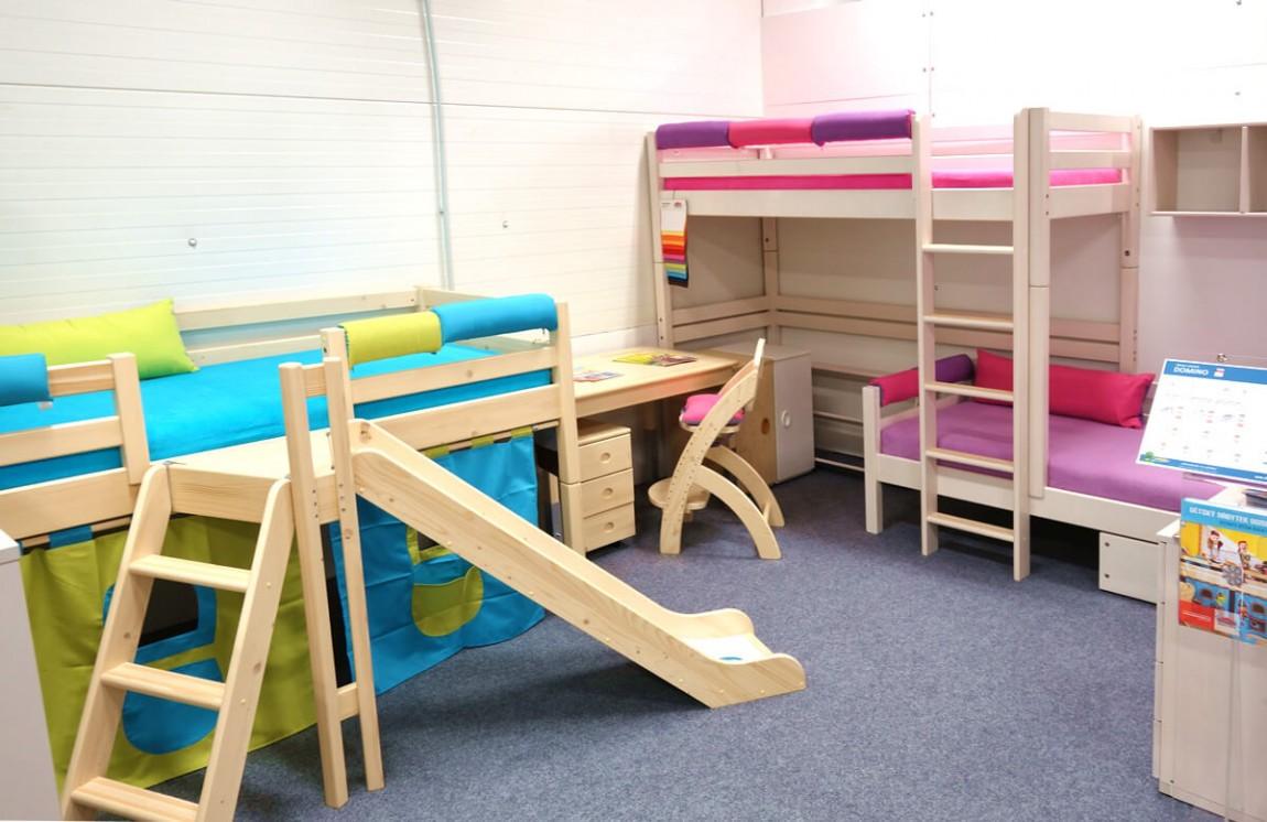 Dětské postele Domino