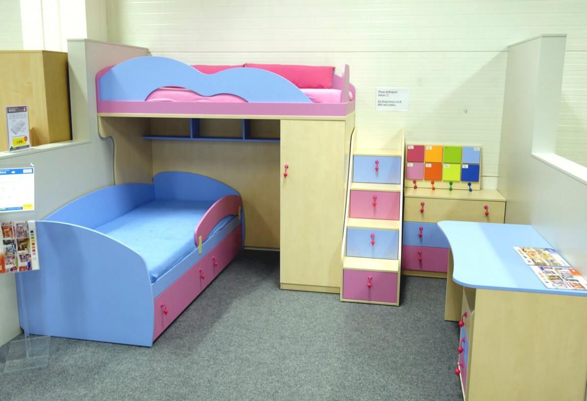 Dětské postele Mia
