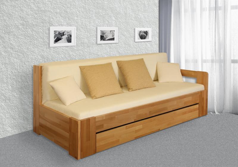 Rozkládací postel DUO BOX s úložným prostorem