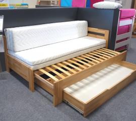 Rozkládací postel DUO na prodejně v Ostravě